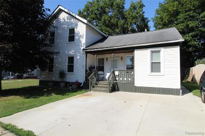 Imlay City MI Single Family Home For Sale: $139,900