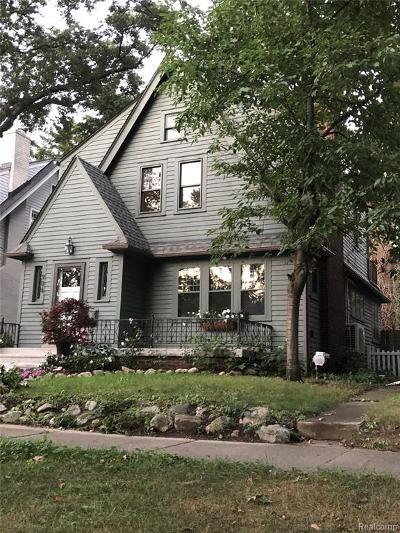 Ferndale,  Royal Oak, Berkley Single Family Home For Sale: 906 Forestdale Road