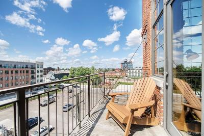 Detroit Condo/Townhouse For Sale: 2003 Brooklyn Street #411