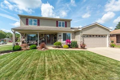 Garden City, Plymouth, Canton Twp, Livonia Single Family Home For Sale: 6745 Woonsocket Street