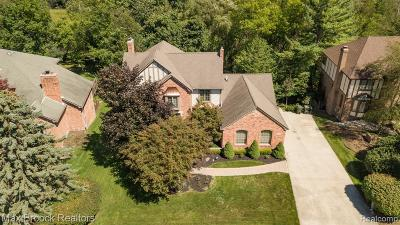Rochester Hills, Rochester Single Family Home For Sale: 3114 Quail Ridge Circle