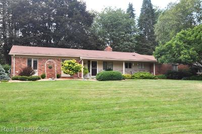 Rochester Hills, Rochester Single Family Home For Sale: 807 Ironstone Drive