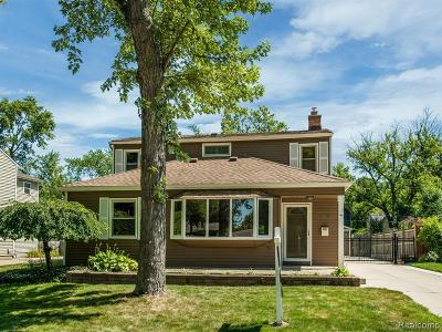 Ferndale,  Royal Oak, Berkley Single Family Home For Sale: 3878 Robina Avenue