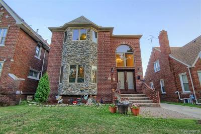 Dearborn MI Single Family Home For Sale: $369,900
