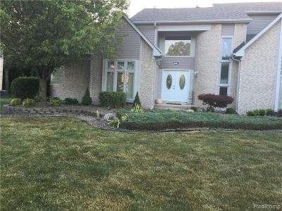 Garden City, Plymouth, Canton Twp, Livonia Single Family Home For Sale: 8001 Labana Court