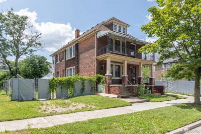 Detroit Single Family Home For Sale: 2535 Townsend Street