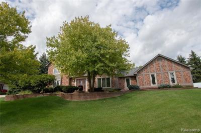 Washington Twp Single Family Home For Sale: 7277 Wellington Pl