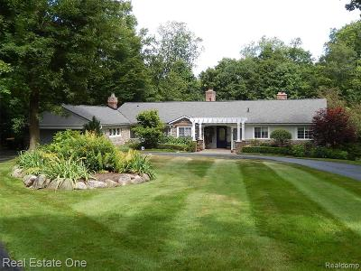 Farmington Hills Single Family Home For Sale: 28058 Grand Duke Dr