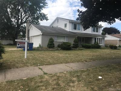 Dearborn Heights Single Family Home For Sale: 26209 Cecile Street