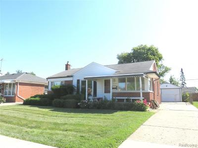 Clinton Twp, Harrison Twp, Roseville, St. Clair Shores Single Family Home For Sale: 28370 Edward Street