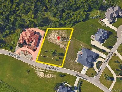 Fenton, Linden, Holly Twp, Grand Blanc, Hartland Twp, Swartz Creek, Highland Twp, Milford Residential Lots & Land For Sale: 17175 Kings Fairway Lane