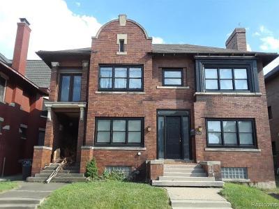 Detroit Single Family Home For Sale: 296 Eliot Street