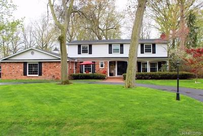 Grosse Ile, Gross Ile, Grosse Ile Twp Single Family Home For Sale: 9293 Island Dr