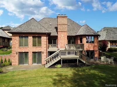 Single Family Home For Sale: 22 Chateaux Du Lac