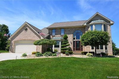 Grand Blanc Single Family Home For Sale: 712 Cambridge Circle