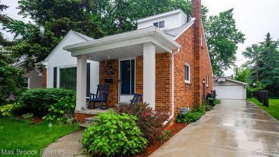 Huntington Woods Single Family Home For Sale: 13367 Victoria Avenue