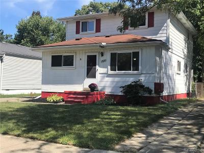 Livonia Single Family Home For Sale: 19926 Rensellor Street