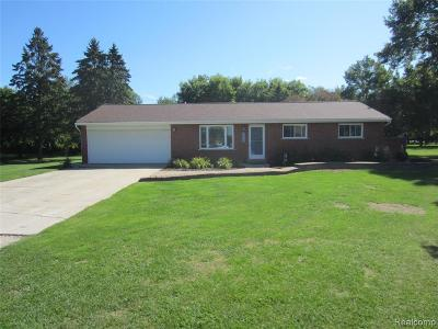 Macomb Twp Single Family Home For Sale: 56400 Ledien Drive
