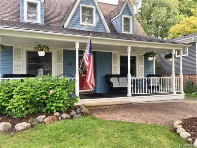 Royal Oak Single Family Home For Sale: 1728 Sycamore Avenue
