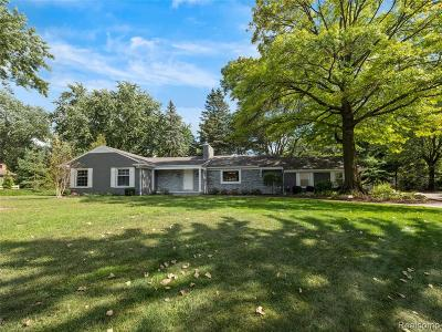 Bloomfield Twp Single Family Home For Sale: 6865 Whysall Road