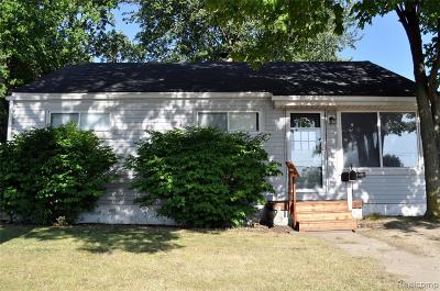 Royal Oak, Ferndale, Berkley, Clawson, Pleasant Ridge Single Family Home For Sale: 1846 Greenfield Road