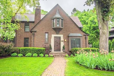 Birmingham MI Single Family Home For Sale: $1,350,000