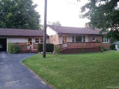 Holly Twp Single Family Home For Sale: 2473 Houser Road