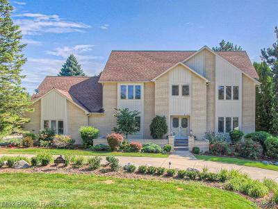 Bloomfield Twp Single Family Home For Sale: 4145 Golf Ridge Drive E