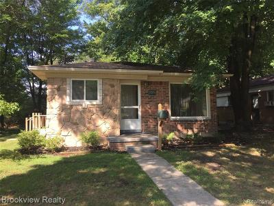 Rochester Single Family Home For Sale: 225 N Alice Avenue