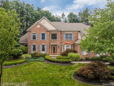 Northville Single Family Home For Sale: 45541 Tournament Drive