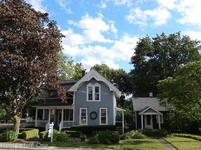 Northville Single Family Home For Sale: 521 W Main Street