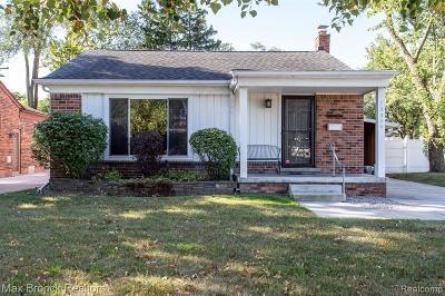 Huntington Woods Single Family Home For Sale: 13359 Kingston Avenue