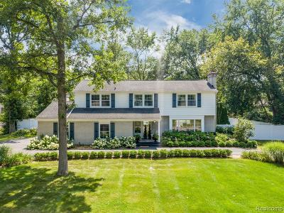 Troy Single Family Home For Sale: 2521 Cheswick Drive