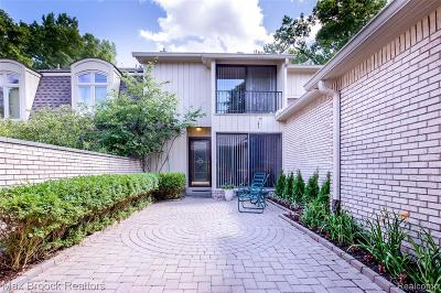 Bloomfield Twp Condo/Townhouse For Sale: 1128 Timberview Trail
