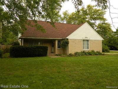 Troy Single Family Home For Sale: 5691 Livernois Road