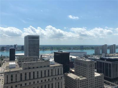 Detroit Condo/Townhouse For Sale: 1135 Shelby Street #2708-0