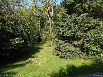 Bloomfield Twp Residential Lots & Land For Sale: 3218 Woodside Court