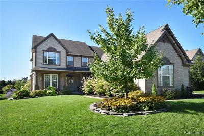 Commerce Twp Single Family Home For Sale: 8401 Hummingbird