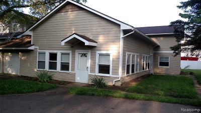 Novi Single Family Home For Sale: 2290 Old Novi Road