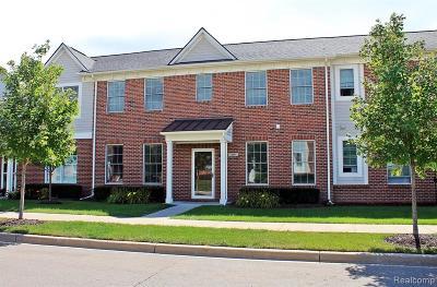 Plymouth MI Condo/Townhouse For Sale: $419,000
