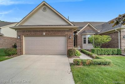 Macomb Twp Condo/Townhouse For Sale: 20897 Belclare Drive