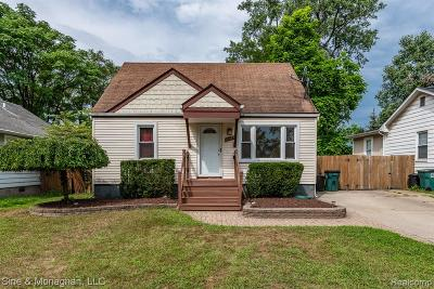Royal Oak, Ferndale, Berkley, Clawson, Pleasant Ridge Single Family Home For Sale: 3121 Minerva Street