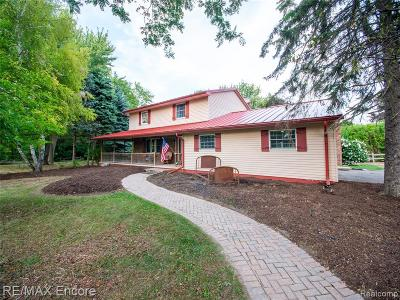 Single Family Home For Sale: 2893 Metamora Road