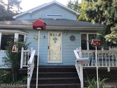 Plymouth MI Single Family Home For Sale: $340,000