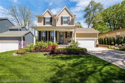 Northville Single Family Home For Sale: 872 N Center Street