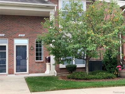 Shelby Twp MI Condo/Townhouse For Sale: $198,900
