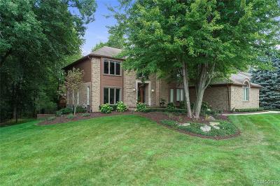 Rochester Hills Single Family Home For Sale: 200 Cross Creek Boulevard
