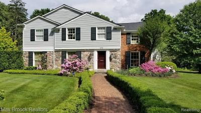 Bloomfield Twp Single Family Home For Sale: 3175 Morningview