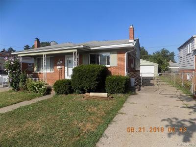 Macomb County Single Family Home For Sale: 23867 Ada Avenue