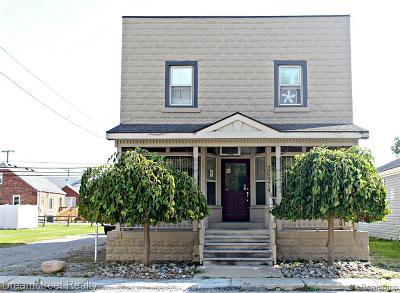 New Boston, Huron Twp Multi Family Home For Sale: 36974 Huron River Drive